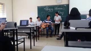 Guitar cover : Sau tất cả nhân ngày phụ nữ Việt Nam
