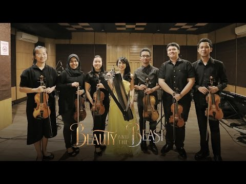 Beauty and the Beast & Be Our Guest Mash Up - Maria Pratiwi feat IYCOrchestra