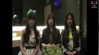 少女時代TTS 新加坡Korean Music Wave宣傳影片[中字]