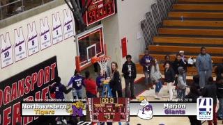 Girls Semi-State Basketball @ Logansport Northwestern vs Marion