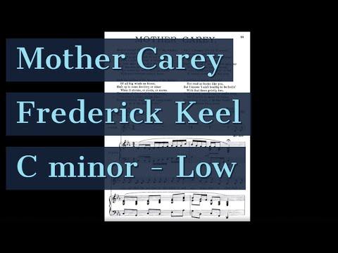 Mother Carey Piano Accompaniment Three Salt-Water Ballads Keel Karaoke Low mp3