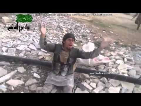 Syrian Civil War 2014 ll Heavy Firefight During Intense Clashes In Khan Sheikhun   Syria War