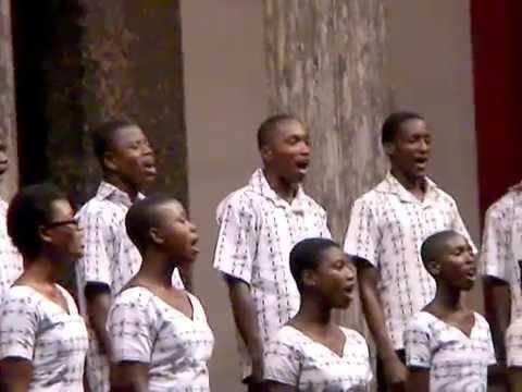 Winneba Youth Choir / At the Glyptotek - Copenhagen Denmark