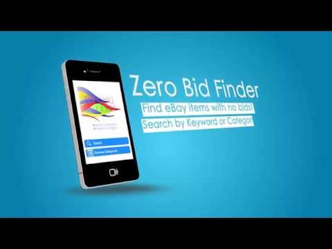 Mobile App Zero Bid Finder