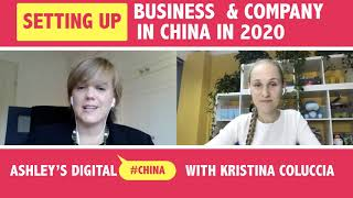Setting Up A Business In China 2020 - Digital China Ep.39 with Ashley Dudarenok