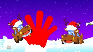 Reindeer Finger Family | Christmas Songs for Children | X'mas Videos for Kids kids videos
