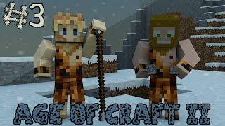 Minecraft - Age Of Craft II ; Episode 3 - La Préhistoire ! [ Aventure Modée Évolutive ]