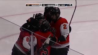 RIT Men's Hockey Highlights at Providence, 12-8-17