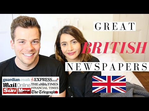 What Newspapers Do British People Read?! 🇬🇧🗞British Newspapers