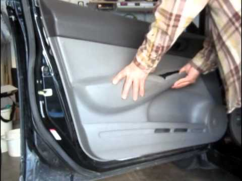 How To Remove Door Panel Honda Civic 2006 2007 2008 2009