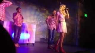 Ex-Miss-Schweiz Linda Fäh singt im AlpenRock House