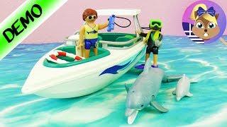 Σετ παιχνιδιού: Ταχύπλοο με δύτες και δελφίνια!