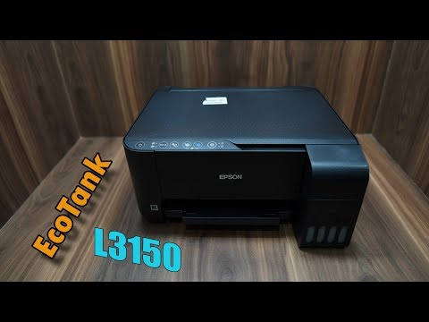EPSON L3150 review, unboxing, installation, Best Economical