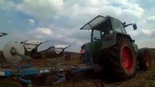 Ploegen met Fendt 311 en Lemken Opal 3-schaar - Tractor Power Movies
