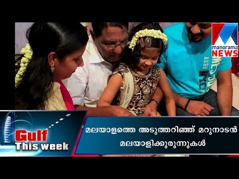 NRI kids learns Malayalam | Manorama News | Gulf this Week