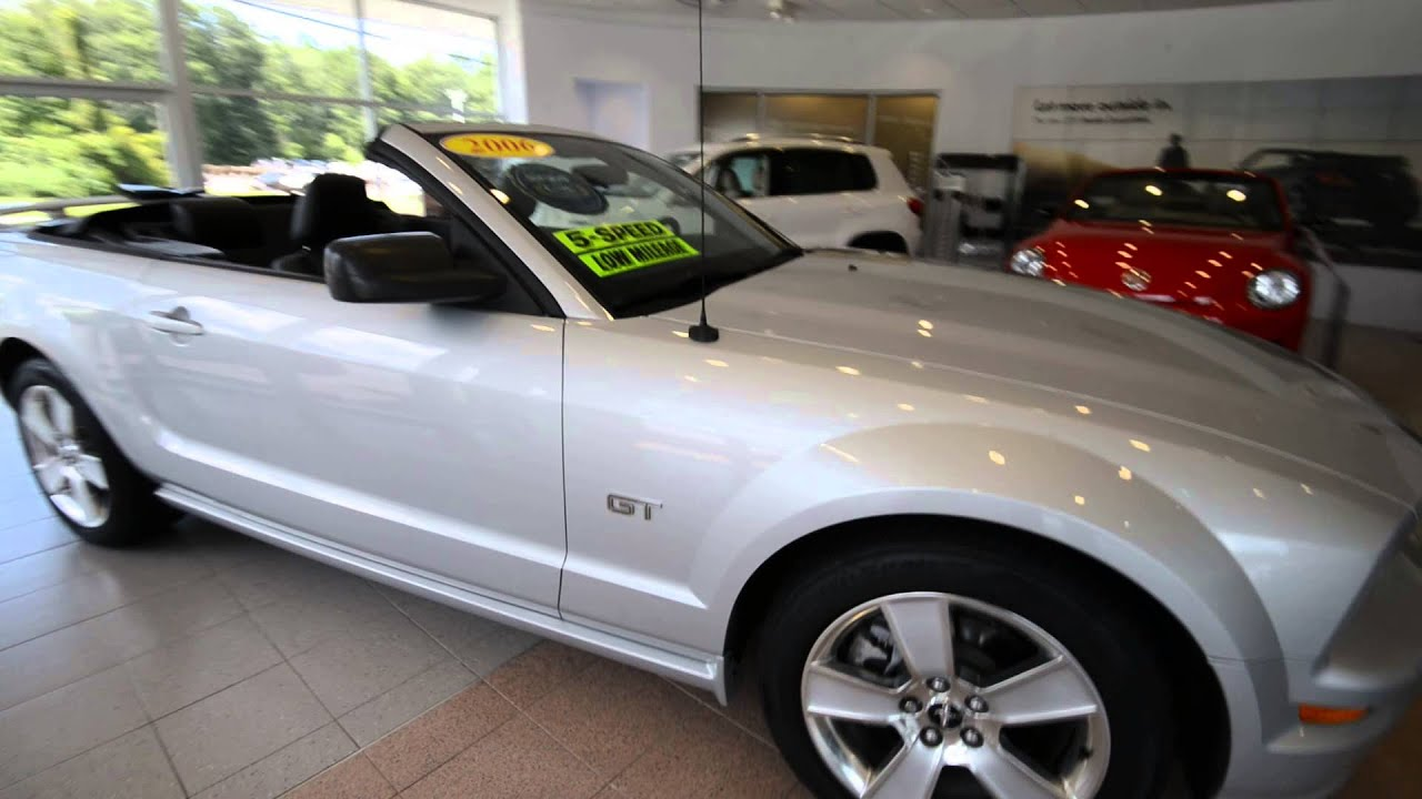 2006 ford mustang gt convertible stk 30221a for sale for Trend motors rockaway nj