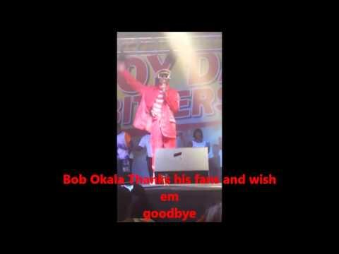 Bob Okala final words and performance at jackson's park Koforidua 120316