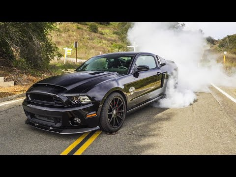 1000HP Shelby GT500 Super Snake SENDS IT !