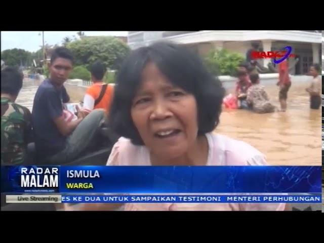 Banjir Di Lampung Utara Akses Antar Kecamatan Terputus
