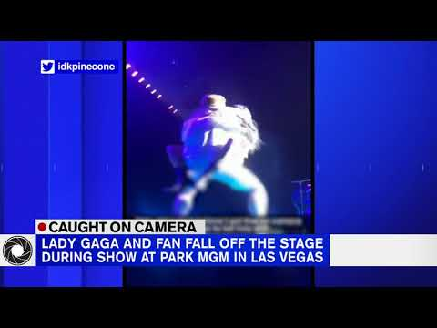 The Mo & Sally Show - Lady Gaga Falls Off Stage During Las Vegas Show