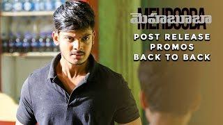 Mehbooba | Post Release Promos Back to Back | Puri Jagannadh | Akash Puri | Neha Shetty