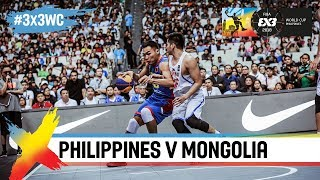 Philippines in tough battle with Mongolia! | Full Game | FIBA 3x3 World Cup 2018 thumbnail