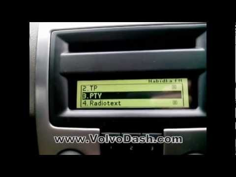 Change language Volvo ICM S40 V50 C30 C70 - P1 - YouTube