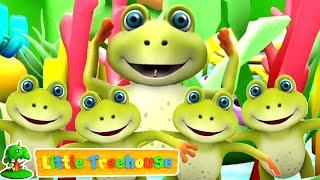 Download Lima kecil katak | Video edukasi anak | Kartun untuk anak | Little Treehouse | Lagu anak indonesia