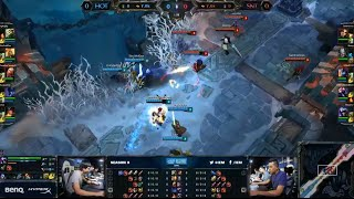 HotShotGG vs SaintVicious ARAM match | Old But Good vs Chicks Dig ELO |  IEM San Jose LOL 2014