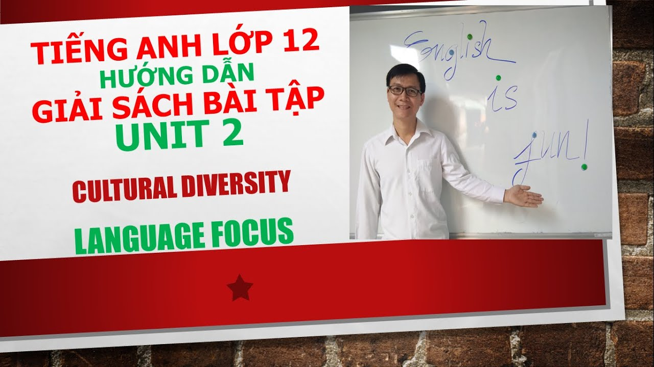 Tiếng Anh lớp 12 ( Giải SBT) – Unit 2 – Language focus – Exercise 2