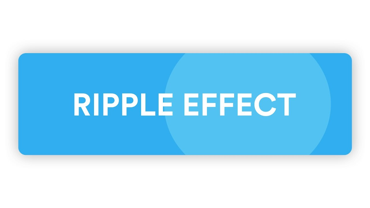 Simple Material Design Ripple Effect [CSS/JS]