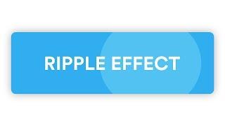 Simple Material Design Ripple Effect [CSS/JS]