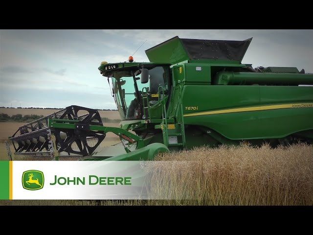 John Deere T670i Combine Testimonial Video - Scotland