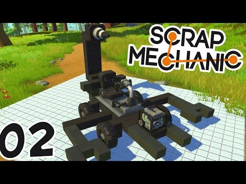 MA VOITURE SCORPION ! | Scrap Mechanic ! #Ep2