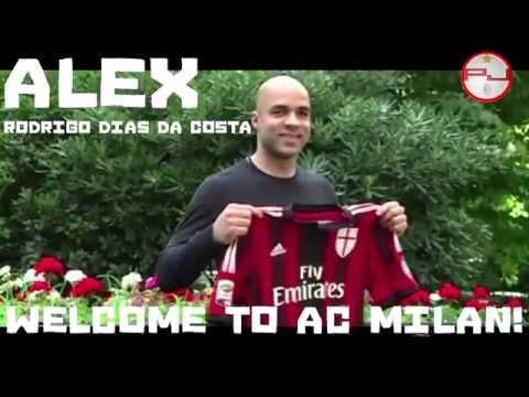 ALEX Welcome to Ac Milan! | ALEX Rodrigo Dias Da Costa Benvenuto al Milan!
