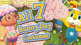 Unlocking All 7 Bunny Day Costumes In Animal Crossing: New Horizons