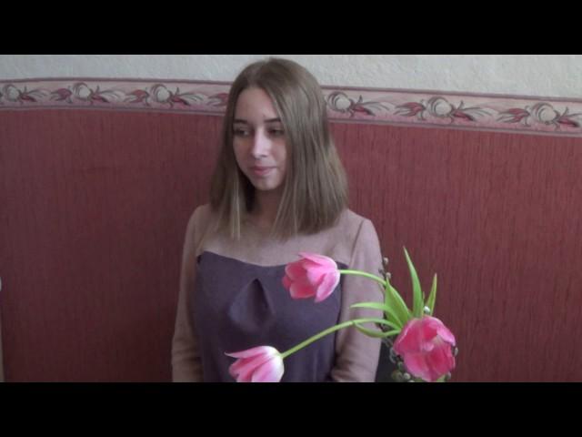 Изображение предпросмотра прочтения – АнастасияКолтакова читает произведение «Русским женщинам» Ф.И.Тютчева