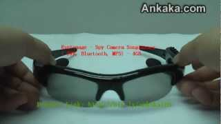 Espionage - Spy Camera Sunglasses ( DVR, Bluetooth, MP3) - 4GB | Spy Sunglasses Review
