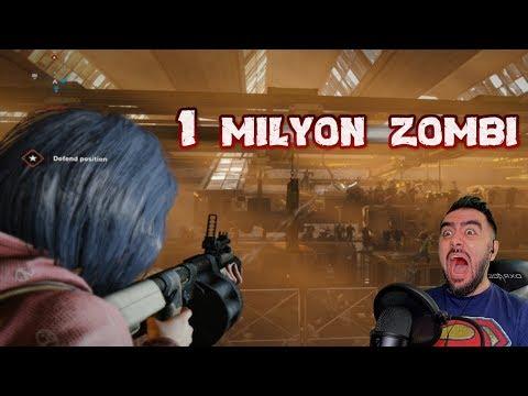 TAM 1 MILYON ZOMBI PEŞIMDE - YAŞAMAK IÇIN ÖLDÜR (GTA 5 TADINDA OYUN)