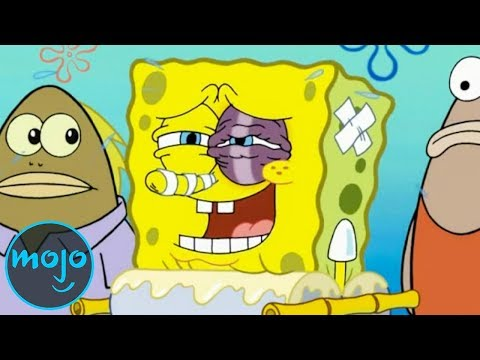 Top 10 Worst Things That Happened to SpongeBob SquarePants