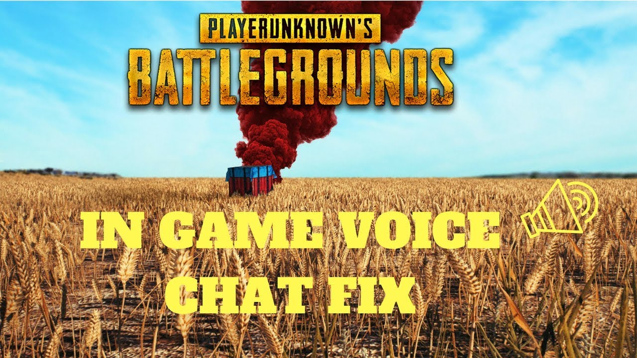 Pubg Hdr Not Working: [SOLVED] PUBG Voice Chat Not Working After 30 Seconds FIX