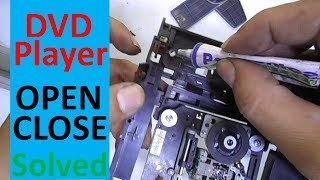 How to Solve DVD Player Open Close Problem Easily