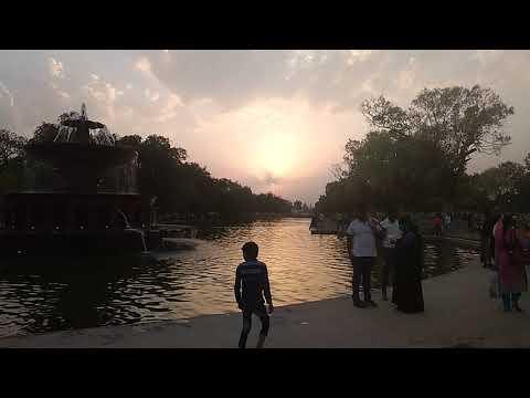 Sun set in Delhi