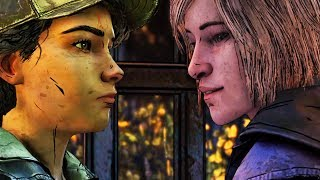 Clementine Meets Violet - All Dialogues - The Walking Dead The Final Season