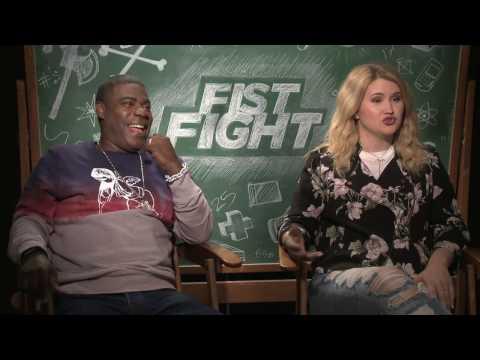 Tracey Morgan & Jillian Bell Fist Fight Interview