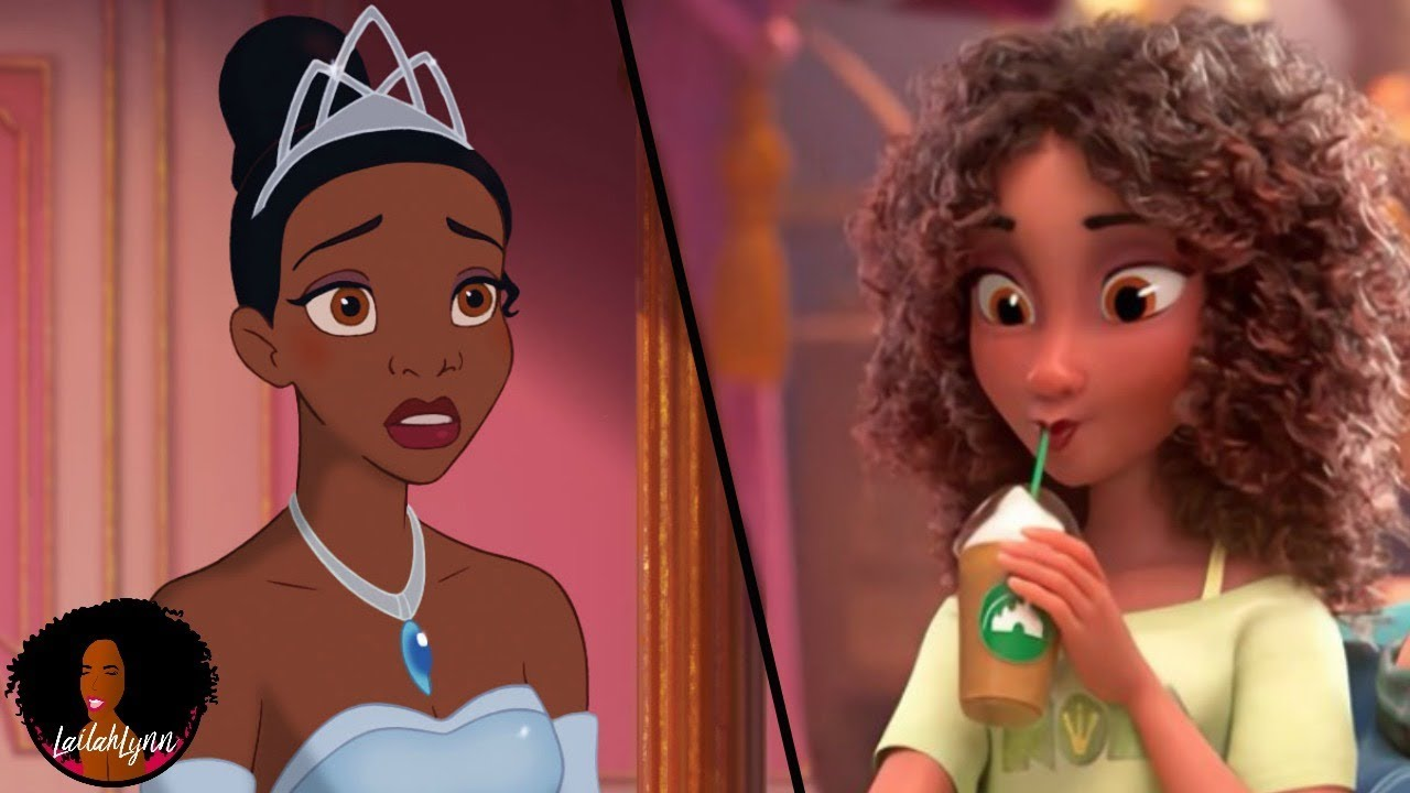 Princess Tiana Gets A Makeover With Lighter Skin & A Thinner Nose In New Disney Movie ( >=[ )