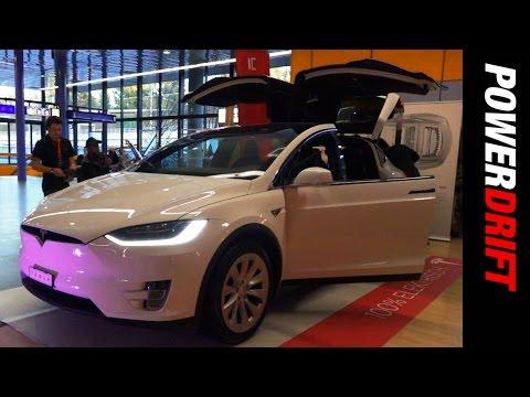 Tesla Model X : Geneva Motor Show : PowerDrift