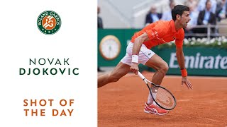 Shot of the Day #10 - Novak Djokovic | Roland-Garros 2019