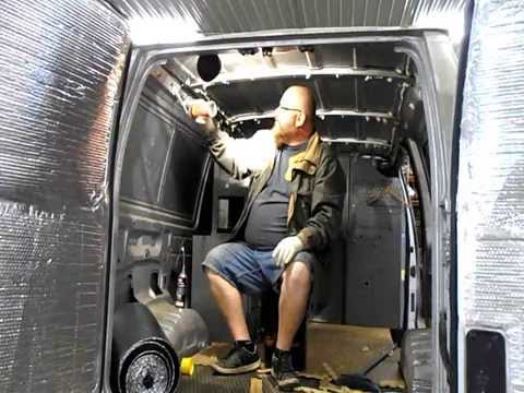 Insulating The Cargo Van Camper Van Has Started Youtube