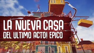 Video de HELLO NEIGHBOR : UNA SOMBRA NOS ATACA Y LLEGAMOS A LA ULTIMA CASA - ( JUEGO COMPLETO )